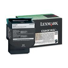 Original Lexmark Toner C544X1KG black C544 C546 X 544 X546 X 548 neu B