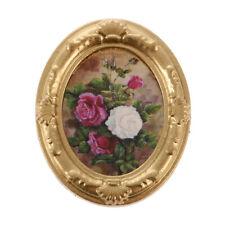 1:12 Flor de casa de muñecas en miniatura estructura de metal decoración de Imagen Foto Mural