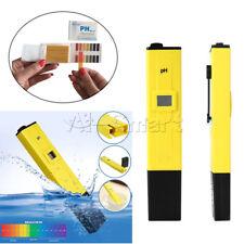 PH Meter Water Tester Pocket Digital Pen LCD Monitor Pool Aquarium Laboratory