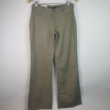 Banana Republic Factory NWT Martin Fit Cotton Linen Trousers Olive Sz 4 BE46