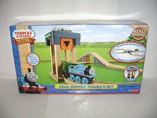 Thomas & Friends Fisher-Price Train Wood Wooden Railway Coal Hopper Figure 8 Set