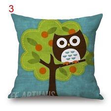 BN lovely owl cushion cover #3 LINEN COTTON
