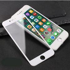 2x 5D Hartglas Panzerfolie Display Schutzglas Tempered Glass 9H IPhone 8 Weiß