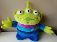 """RARE 13"""" TOY STORY 1 2 3 ALIEN SOFT PLUSH TOY DISNEY STORE EXCLUSIVE AUTHENTIC"""