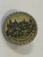 Burg Hohenzollern Germany - vintage Tourist Travel Souvenir Collector Hat Pin