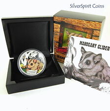 2015 ENDANGERED & EXTINCT MAHOGANY GLIDER Silver Proof Coin
