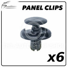 Panel Clip Toyota Range Inc: Agya/Auris/Avensis/Celica etc Pack of 6 Part 11782