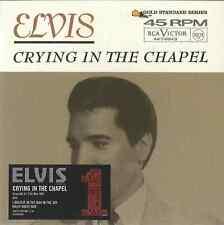 ELVIS PRESLEY - CRYING IN THE CHAPEL 2005 UK REISSUE CD SINGLE SLIP CASE SLEEVE