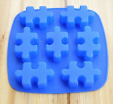 Molde De Torta, Jabón Molde 7-Puzzle Rompecabezas Molde de Silicona Molde para Dulces y Chocolates