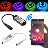 Bluetooth/Wifi LED Controller&Remote For 5050 3528 RGB/RGBW LED Strip Light Hot