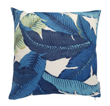 Authentic Tommy Bahama Outdoor Blue & White Swaying Palm Leaf 45cm Cushion Cover