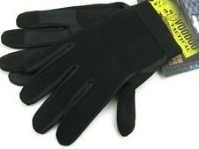VOODOO TACTICAL Black NEOPRENE POLICE Search Gloves Size Medium! 01-663501093