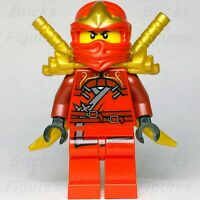 New Ninjago LEGO® Kai ZX Red Ninja Minifigure from sets 9561 9441 9449 Genuine