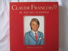 CLAUDE FRANCOIS COFFRET 14 DISQUES