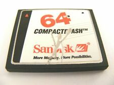 ,, 64MB Compact Flash Karte ( 64 MB CF Card ) SanDisk gebraucht ,,
