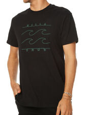 BRAND NEW  TAG BILLABONG MENS (XL) 'PINLINE' SURF T-SHIRT TEE CORE FIT BLACK