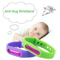 HOT Anti Bug Pest Insect Bugs Repellent Repeller Wrist Band Bracelet Wristband