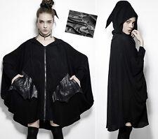 Poncho gilet pull veste gothique punk lolita chauve-souris capuche elfe Punkrave