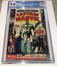 Marvel Super-Heroes #12 ~ Origin & 1st Appearance Captain Marvel 1967 ~ CGC 9.0