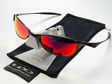 OAKLEY WIRETAP PEWTER +RED SONNENBRILLE SQUARE WIRE WHISKER JULIET A E C WHY 3 8