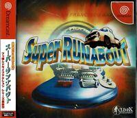 Super Runabout San Francisco Bay Sega Dreamcast Japan New No Cracks or Tears