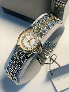 CITIZEN Quartz Ladies Round Watch Dual Tone Bracelet Brand New With Tags