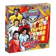 World Football Stars GUESS WHO Children Games for Brain Memories Learning