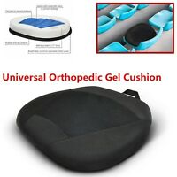 Orthopedic Silicone Gel Comfort Portable Cushion Seat Pad for Car Office Chair