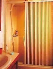 "Irvine Folding Shower Door, 36"" x 57"", Ivory 3657SI RV"
