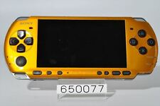 Vy good SONY PSP-3000BY PSP 3000 Bright Yellow Playstation portable DHL 650077