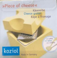 Râpe Piece of Cheese Koziol, Coupe-Fromage Jaune, Originale