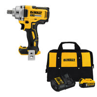 "DeWalt DCF894B 20V XR 1/2"" Impact Wrench w/ FREE DCB205CK Battery Charger Kit"