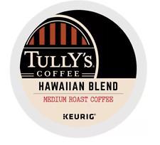 New listing Tully'S Hawaiian Blend Extra Bold Coffee. Medium Roast. Pack 144, 192 Pods.