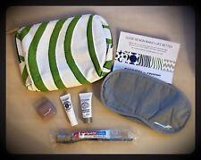 Finnair Business Class Amenity Kit + L'OCCITANE - New flower stripes marimekko -
