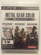 Metal Gear Solid HD Collection (Sony PlayStation 3, 2011)Sealed CIB