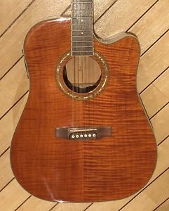 Cort Electro-Acoustic Guitar MR720 Amber