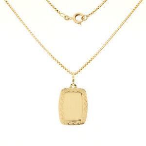 Halskette mit Anhänger in 585 Gold 14 kt