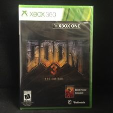 Doom 3: BFG Edition with Bonus Poster (Microsoft Xbox 360) BRAND NEW