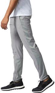 Adidas Men's Athletic Woven Slim Pants Size: XL Light Grey BR3393