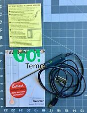 Vernier Go Temp USB Temperature probe for computer, used