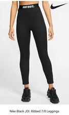 Nike Just Do It Ribbed Leggings Ladies Size: Medium