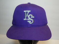 Kansas State Wildcats Ncaa Ks Advertising Snapback Hat Baseball Cap Ksu Big 12