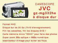 Camescope JVC à disque dur