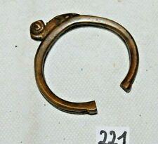 C221 Bijou ancien africain - Bracelet du Burkina faso en bronze