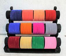 Beautiful Bollywood Jewellery Trendy Plain Velvet Bangle 24pc Set Color Bangles