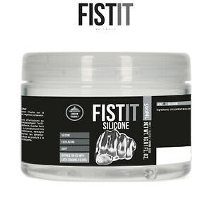 Fist It Lubricant 500ml Pro Silicone Based Lubrificante Base Silicone Latex Safe