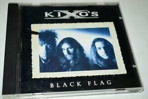 King's X CD 1992 Atlantic Recording - Black Flag