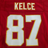 NWT Travis Kelce Kansas City Chiefs #87 Jersey All Stitched Red Mens Size 2XL !