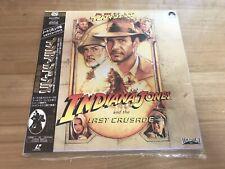 Indiana Jones The Last Crusade Laserdisc +$4.00 USD shipping for extra LD