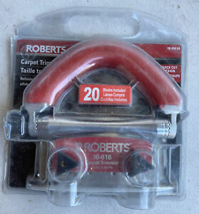 ROBERTS Conventional Carpet Trimmer 5 Position Non-slip Handle 10-616-2A